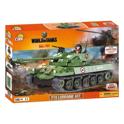 Конструктор Cobi World Of Tanks F19 Лоррейн 40T, 540 деталей (5902251030254)