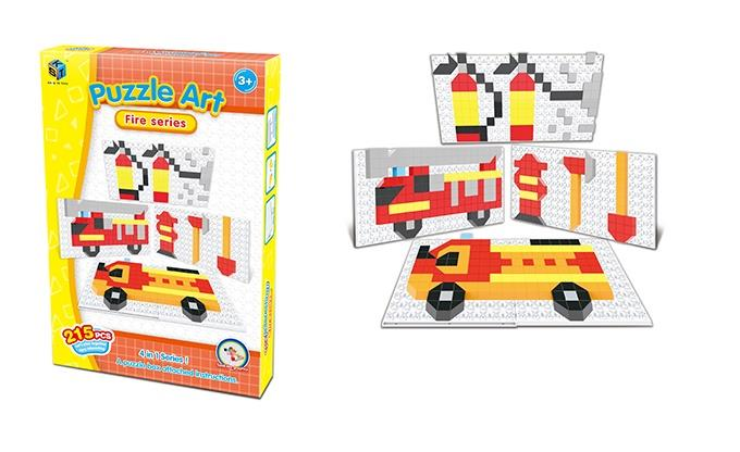 Пазл Same Toy Puzzle Art Fire serias 215 эл. 5991-3Ut