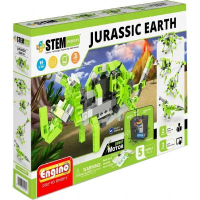 Конструктор Engino Stem Heroes Motorized 5 в 1 Динозавры (STH61)