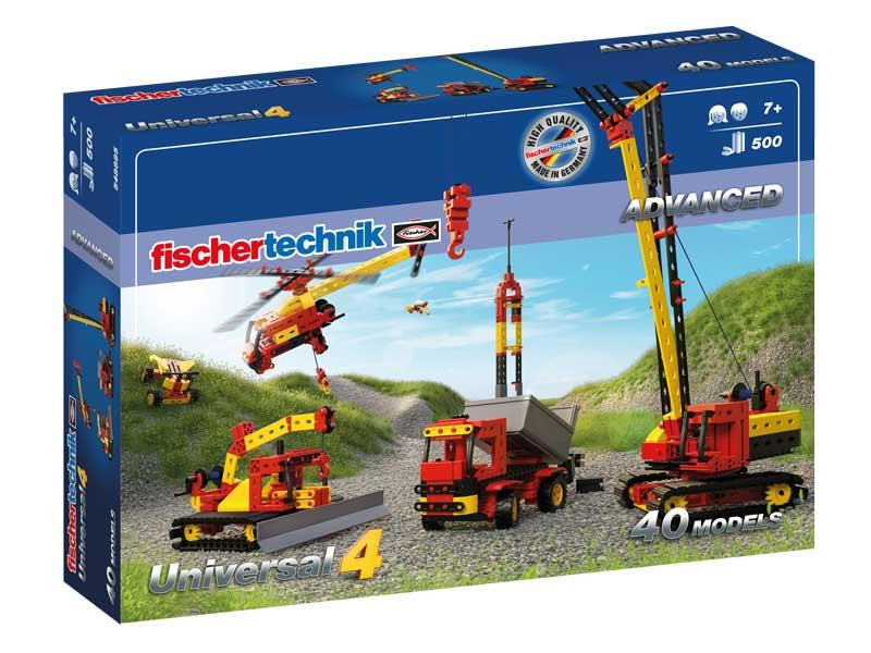 Конструктор fisсhertechnik ADVANCED Universal 4 FT-548885
