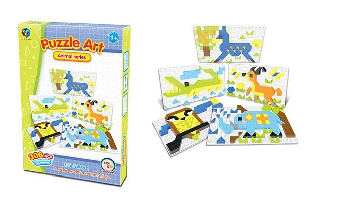 Пазл Same Toy Puzzle Art Animal serias 306 эл. 5991-6Ut